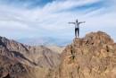 Underbar bergslöpning i Atlasbergen