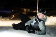 Vain hullu järjestää lumipolkujuoksun!