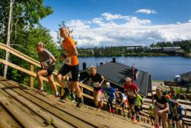 Pajunen ja Närhi käynnisti polkujuoksijain juhannuksen Tahkolla