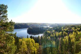 Aulanko Tower Traililla kamppailua huipun näköaloille