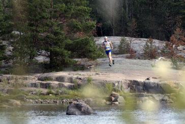 Leskinen ja Glad-Schreven vikkelimmät kallioisella Kopparnäs Coast Trailillä