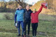 Vuoden polkujuoksijat Krapu & Anttonen palkittu