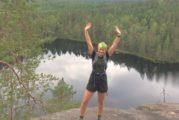 Polkujuoksuprofiili Piia Anttonen – 40 kansallispuiston kävijä