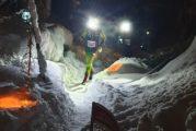 Mikko Knuuttila yllätti Jere Pajusen Himoksen öisillä lumipoluilla