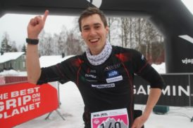 Jere Pajunen koulutti Nouskin suunnistajat Himos Winter Traililla