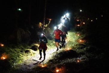 Pukkilan Polkunäädät tykästyivät Himos Winter Trailin tunnelmaan