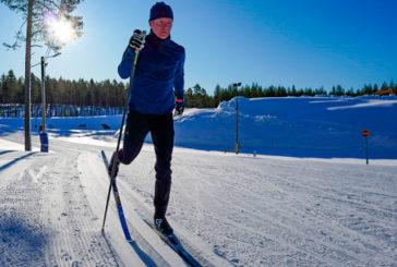 Viikko 9: Viiden kilometrin vauhtikestävyysharjoitus hiihtäen
