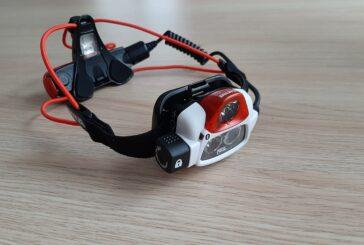 Petzl Nao + reaktiivinen LED otsalamppu