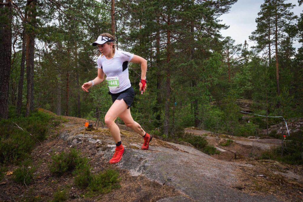 Anna-Stiina Erkkilä jatkoi voittoputkeaan.
