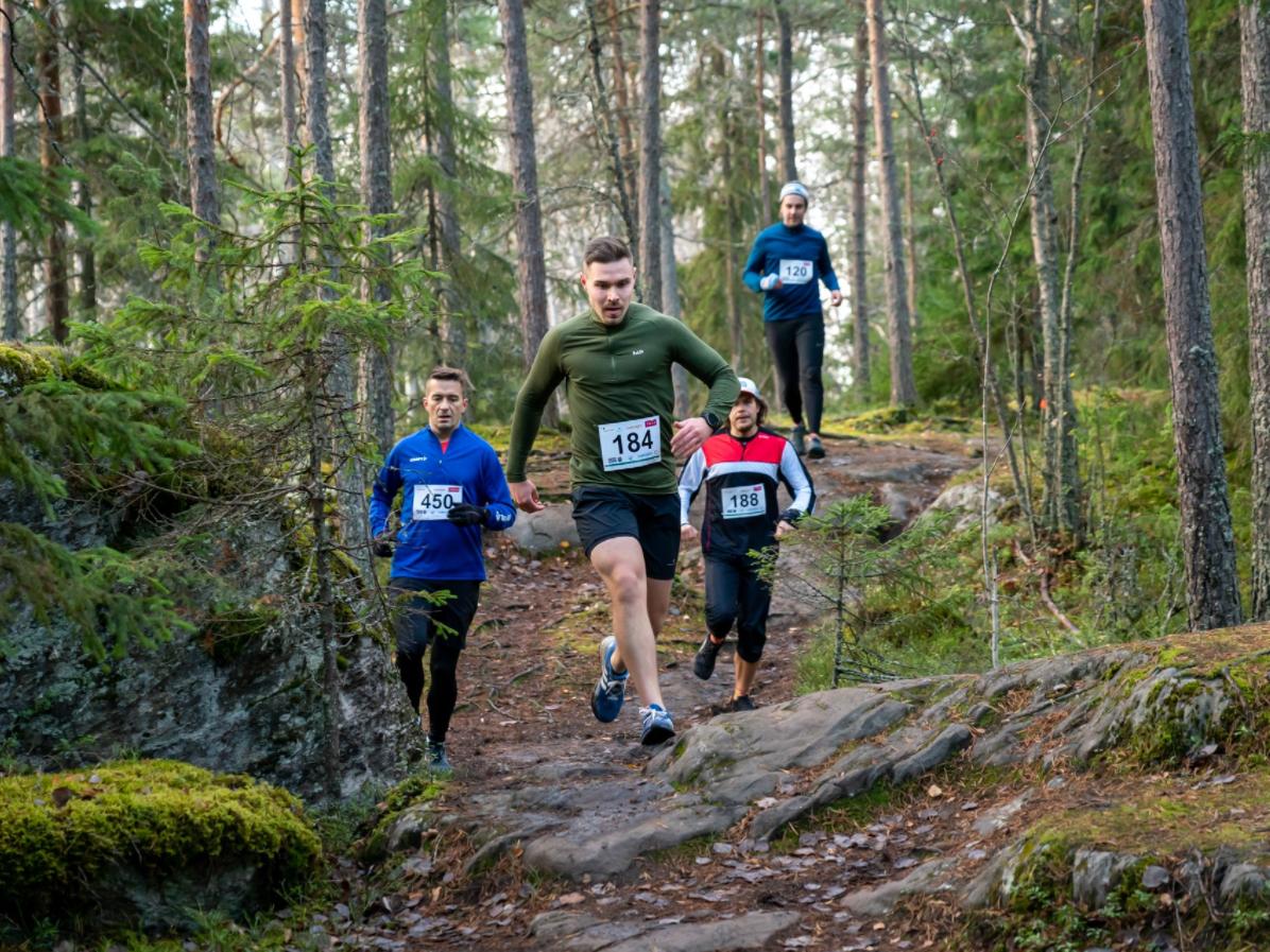 Voimaa Metsästä juostiin lasten ja nuorten psykiatrian hyväksi